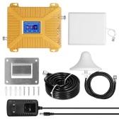Универсальные усилители сигнала Комплект интеллектуальных повторителей900/1800/2100 GSM DCS WCDMA 2G / 3G / 4G LTE