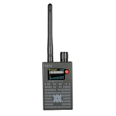 Detector de radio con señal inalámbrica de RF de rango completo multifuncional Detector de seguimiento con detección automática de 1MHz-8GHz Sensibilidad ajustable