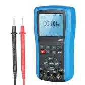 2 em 1 Multi-funcional 20MHz 80MS / s Handheld Digital Osciloscópio de armazenamento DSO Medidor de escopo Verdadeiro RMS Multímetro Auto / Faixa manual com função de comunicação USB