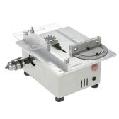 Mini tavolo da 100W sega alluminio miniatura fai da te multifunzione banco da banco sega 7000 rpm PCB taglierina da carpenteria sega motosega modello di precisione seghe DC 12-24V