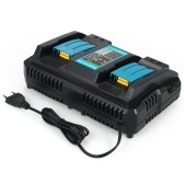 Power Tool Battery Chargers DC18RD Dual Ports Fast Charger Suitable for Makita 4A 120W 7.2V to 18V Batteries Power Adapter