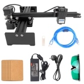 Desktop Single Arm Engraver Portable DIY Engraving Carving Machine Mini Carver