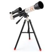NO.XD168-004 Астрономический телескоп со штативом Детские телескопы начального уровня Телескоп для наблюдения за звездами высокого разрешения 20x / 30x / 40x