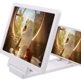 携帯電話スクリーンルーペ3Dビデオ虫眼鏡アイプロテクター多機能スマートフォンブラケット