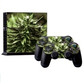 Stylish Full Body Decal Skin Sticker Cover for PS4 Playstation Console and 2 Controllers Style 1