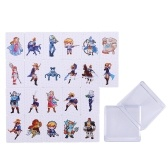 22PCS Carte da gioco con tag NFC in PVC The Legend of Zelda: Breath of the Wild per Switch Style 2 Mini size