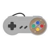 Retro USB Gamepad Controller Wired Gaming Controller Joystick Videospiel Controller für Nintendo SNES Super NES