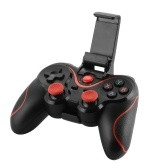 Wireless BT Gamepad Joystick No Driver for Android IOS Phone Tablet PC with Bracket