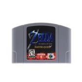 Na konsolę do gier Nintendo 64 N64 Mario Smash Bros Zelda Karta konsoli 64 Bit Games Wersja angielska Wersja amerykańska (Zelda)