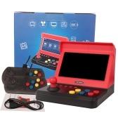 Q70 7-дюймовая мини-игровая консоль Двойной ностальгический домашний джойстик