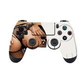 Funda protectora de silicona para juego de controlador de piel para PS4