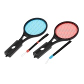 1 Pair Tennis Racket Handle Controller Tennis Racquet Somatosensory Game Sports for Nintendo Switch Joy-con Grips