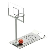 Mini Finger Basketball Game Foldable Spring Basketball Stand Stress Relief Toy Sport Table Game Desktop Game