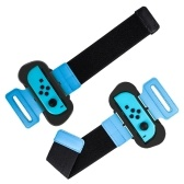 2Pcs Wristband Compatible with Nintendo Switch Joy-Con Adjustable Wrist Strip with Nylon Fastener Compatible with Just Dance
