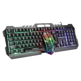 T21 Backlight Laptop Game Keyboard And Mouse Suit Comfortable Durable Wear-Resistant Mechanical Keyboard Mouse Suit