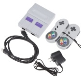 SN-02 Classic Family Game Console Mini HD TV Video Game Console Dual Gamepad Built-in 821 Classic Games for SNES Games