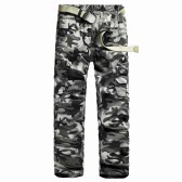 Neue Männer Cargohose Camouflage Multi-Taschen Camping Arbeit Military Style Outdoor-Freizeithosen