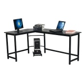 L-Shaped Desktop Computer Desk