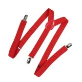 Klip na klamerce na suwakach Elastyczny kształt Y Powrót Formalne Unisex Adjustable Braces