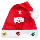 Kid Взрослый Cheer Рождественская шляпа Дети Санта-Клаус оленей Снеговик Симпатичные крышки партии фестиваль украшения