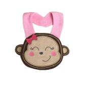 Baby Kids Cartoon Mittagessen Bib niedliche Tier Stickerei Baumwolle wasserdicht jungen Mädchen Slaliva Handtuch Bib Burp Tücher