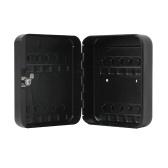 20 Metal Safe Hook Key Box Tags Home Car Lock Storage Case Cabinet Wall Mount