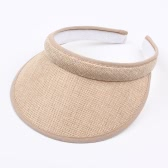 Kinder Sommer Sun Visors Cap Leere Top Broad Wide Brim Topless Stirnband Kinder Hut Headwear