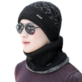 Men Knitted Beanies Hat Dome Ribbed Autumn Winter Cap Warm Skullies Street Hat Headwear