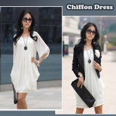 Women's Lady Mini Dress Chiffon