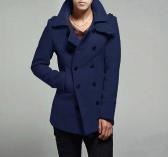 Körper stilvolle Double Breasted Trenchcoat Herrenjacke Outwear