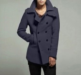 Körper stilvolle Double Breasted Trenchcoat Herrenjacke Outwear