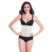 Mulheres sexy cintura Trainer corpo Shaper barriga Cincher Underbust controle espartilho Shaper respirável Shapewear preto/caqui