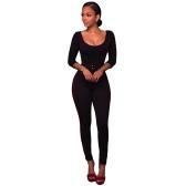 Sexy kobiet wysokiej talii spodnie Slim Leginsy Side Striped Back Zipper Eleganckie spodnie Skinny Skinny czerwony / różowy