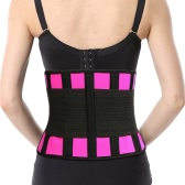 Women Waist Cincher Hot Shaper Body Trainer Slimming Belt Boned Corset Underbust Shapewear Rose