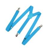 Neue Mode-Männer-Frauen-Clip über Strapse elastische Y-Form zurück formale Unisex: verstellbare Hosenträger