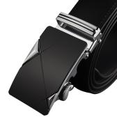 Moda nowoczesny design skórzany pasek pas Business Casual stopu cynku automatyczne klamra mężczyzna spodnie rekreacyjne pas dla mężczyzn Girdle szeroki pas