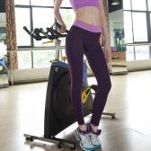 Fashion femmes Yoga Sports pantalon haut Fitness Stretch Gym course pantalon exercice Leggings