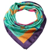 Plaza de las nuevas mujeres de la bufanda del parque de atracciones de impresión Cinta de cabeza pañuelo elegante pashmina