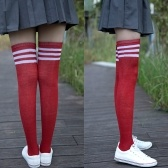 Schoolgirl Wear Knee-high Socks Leg Protector Sock