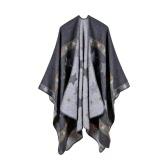 Nowe kobiety dzianiny Poncho Cape Star Oversized Sweter Sweter Szalik Szalik Cashmere Pashmina