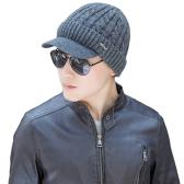 Fashion Men Knitted Beret Crochet Slouch Baggy Beanie Winter Warm Hat Cap Headwear
