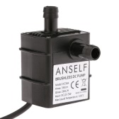 Anself ultra-leise Mini DC12V 5W Micro Brushless Wasser Öl Pumpe Wasserdicht Tauchpumpe Brunnen Aquarium 260 L/H Lift 350 cm Umlauf