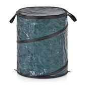 Homgeek Pliable Trash Pop-Up Feuille Portable Can Garbage sac de rangement Collection Bin 47 * 60cm Garden Camping utilisation