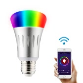 Wi-Fi Smart LED Glühbirne E27 mehrfarbige Farben ändern Dimmable Night Light Wireless Smartphone Fernbedienung