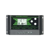 Regulador de carga solar del regulador de la carga de 10A 12V / 24V LCD automático regulador de la batería protección dual de la salida de la salida del USB 5V