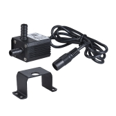 Dual-Outlet Mini Submersible Brushless Oil Water Pump Ultra-quiet Max. Lift 3 Meters 220L/H DC 12V for Fish Tank Aquarium Fountain Circulating