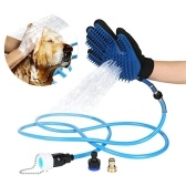 Pet Kąpielowy Glove Tool Pet Shower Sprayer