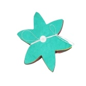3m Hawaje Kolorowe wiszące papierowe liście kwiatów Garland