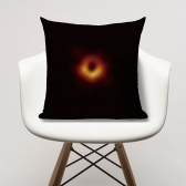 ブラックホールリネンメッシュモダンミニマリストオフィスシートクッション