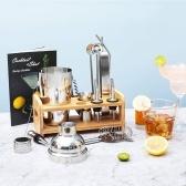 Bar Cocktail Set Boston Shaker Getränkeherstellungskit Edelstahl-Mixer, der Geschenk macht